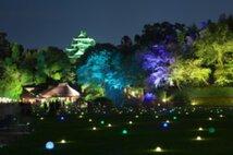 岡山後楽園 夏の幻想庭園