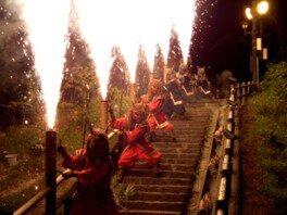 【2019年中止】地獄の谷の鬼花火