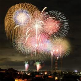 田原祭り・五町合同花火大会