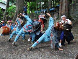 祇園祭(ささら獅子舞)