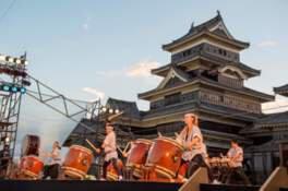 【2020年開催なし】第32回国宝松本城太鼓まつり