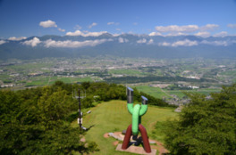 長峰山山頂展望台
