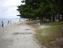 北小松区営小松浜水泳場 キャンプ場