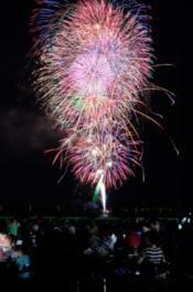 【2020年開催なし】おおむた海上花火大会