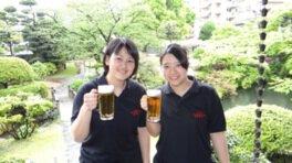 萃香園ホテル 日本庭園 ビアガーデン