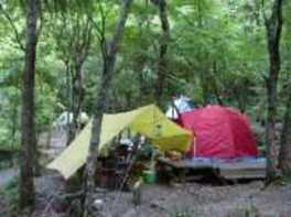 匹見峡レストパークキャンプ場
