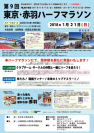 第9回 東京・赤羽ハーフマラソン