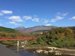 月光川ダム周辺の紅葉