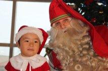 サンタさんと一緒に過ごすクリスマスパーティー