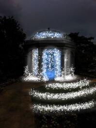 びわ湖大津館2017 冬期ライトアップ「光せせらぐ冬の庭」