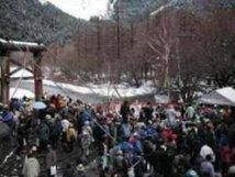 上高地開山祭
