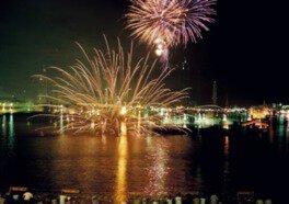 姫路港開港60周年記念 第41回姫路みなと祭 海上花火大会
