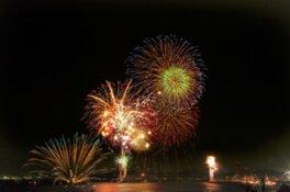 【2020年開催なし】アジアポートフェスティバル in KANMON 2019 関門海峡花火大会