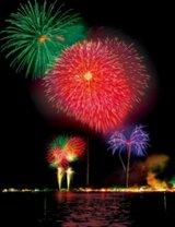 山中湖「報湖祭」納涼花火大会