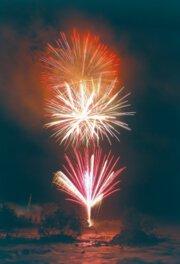 栃尾温泉やまびこ花火大会