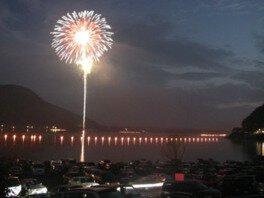 西湖竜宮祭花火大会