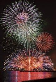 【2020年中止】第56回館山観光まつり館山湾花火大会