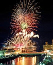 【2020年開催なし】第54回湯の川温泉花火大会