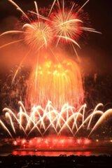 熊本地震復興祈願 第30回記念やつしろ全国花火競技大会
