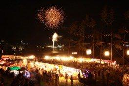 【2020年中止】鶴市花傘鉾祭花火大会