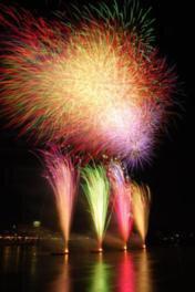 【2020年開催なし】第40回日本ライン夏まつり納涼花火大会