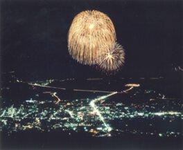 第42回嬉野温泉夏まつり花火大会