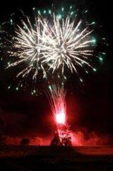 第43回占冠村ふるさと祭り 前夜祭花火大会