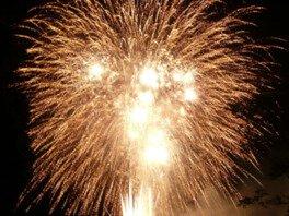 【2020年開催なし】山田のかかし村まつり花火大会