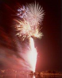 きたむら田舎フェスティバル2019(第31回大会)沼上連発花火大会
