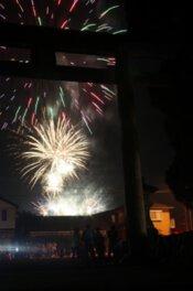 【2020年開催なし】つの町民花火大会