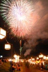 えびの京町温泉夏祭り花火大会