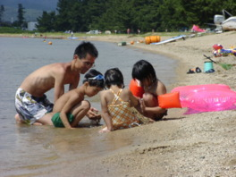 近江白浜水泳場
