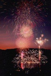 【2020年中止】松原湖灯籠流し花火大会