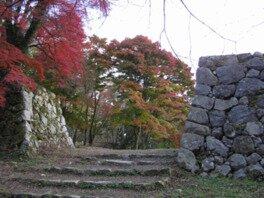 高取城跡の紅葉