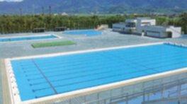 山梨県小瀬スポーツ公園水泳場
