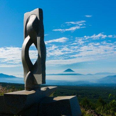 富士見高原 創造の森 彫刻公園