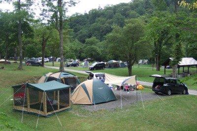 道民の森一番川地区オートキャンプ場