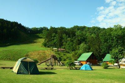 西興部森林公園キャンプ場