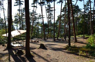 白鷹町ふるさと森林公園キャンプ場