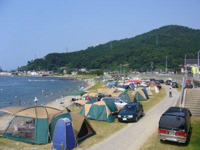 鼠ヶ関キャンプ場