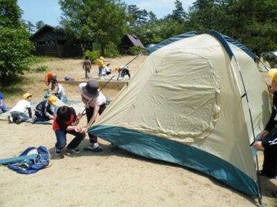 チュウブ鳥取砂丘こどもの国キャンプ場