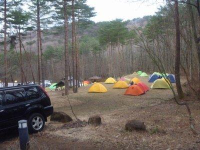 恐羅漢エコロジーキャンプ場