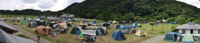 田万川キャンプ場