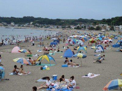 【2020年営業中止】三浦海岸海水浴場