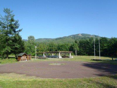 国立日高青少年自然の家からまつキャンプ場