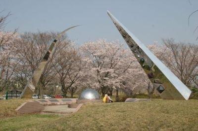 大潟村南の池入植記念公園・キャンプ場