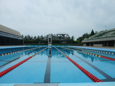 白山市松任総合運動公園水泳プール