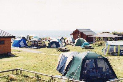 沓形岬公園キャンプ場