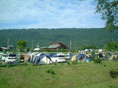 きのこの里あいべつオートキャンプ場