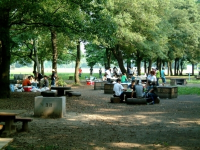 秋ヶ瀬公園 炊飯場
